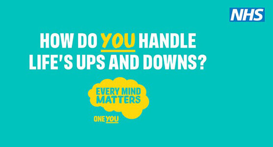 How do you handle life's ups and downs? Every mind matters.